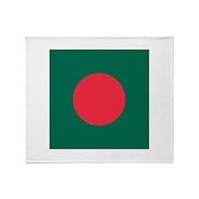 Flag of Bangladesh Throw Blanket