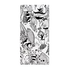 Solomon Fishes Beach Towel