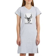 Deer Hunter Hunting Women's Nightshirt