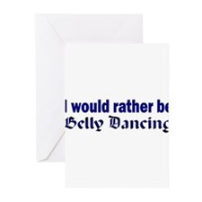 I Love Belly Dancing Greeting Cards (Pk of 20)