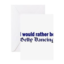 I Love Belly Dancing Greeting Card