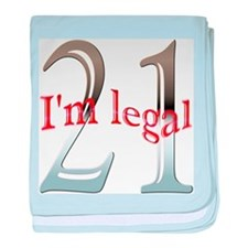 Im Legal and 21 baby blanket