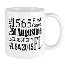 St Augustine 450 years Mugs