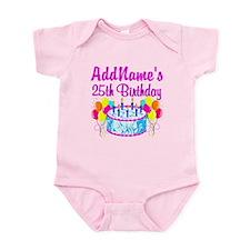 FABULOUS 25TH Infant Bodysuit