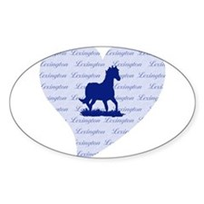 Lexington Kentucky Horse Decal