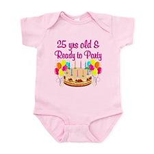 CELEBRATE 25 Infant Bodysuit