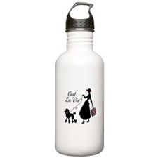 Cest La Vie Water Bottle