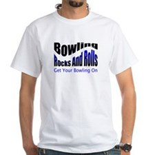 Bowling Rocks And Rolls T-Shirt