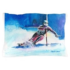 ski 4 Pillow Case