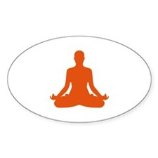 Yoga meditation Decal