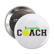 """Tennis Coach 2.25"""" Button (100 pack)"""