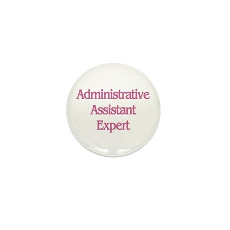 Administrative Expert Mini Button (10 pack)