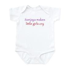 Sanjaya makes girls cry Infant Bodysuit