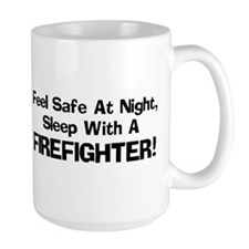 Feel Safe with a Firefighter Mug