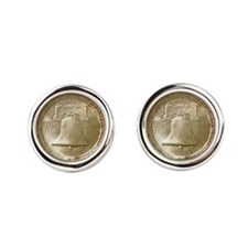 American Independence Coin Cufflinks