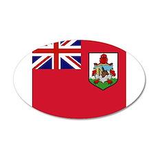 Flag of Bermuda island Wall Sticker