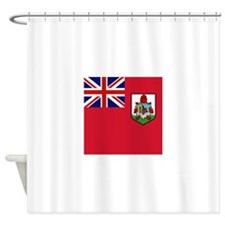 Flag of Bermuda island Shower Curtain