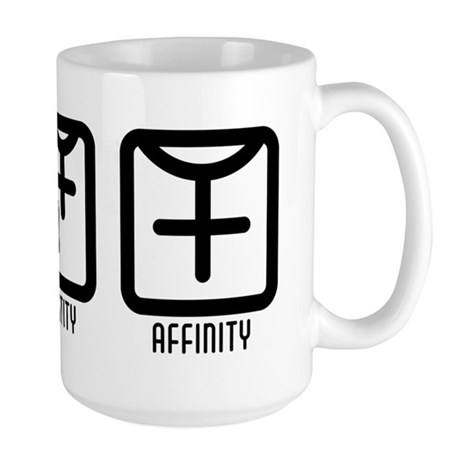 FemaleBoth to Female Large Mug