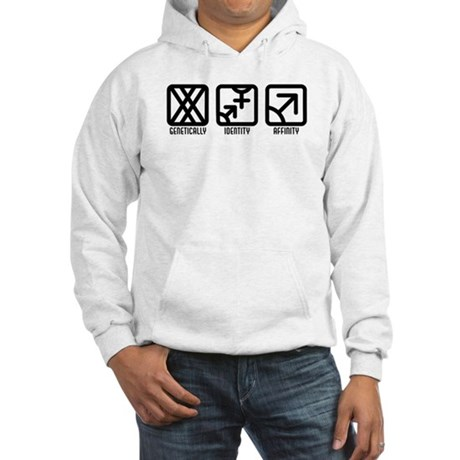 FemaleBoth to Male Hooded Sweatshirt