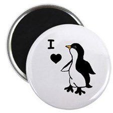 Penguin Draw Magnet