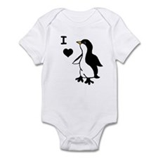 Penguin Draw Infant Bodysuit