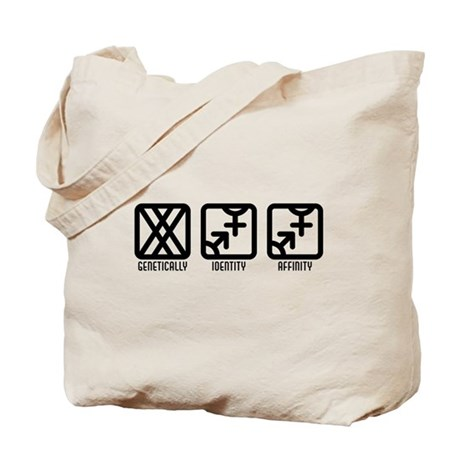 FemaleBoth to Both Tote Bag