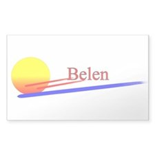 Belen Rectangle Decal
