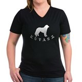 Kuvasz Dog w/ Text Shirt