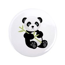 "Panda Bear 3.5"" Button (100 pack)"