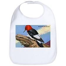 Red-Headed Woodpecker Bird Bib