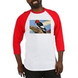 Red-Headed Woodpecker Bird Baseball Jersey