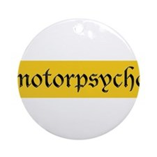Motorcycle Psycho Ornament (Round)
