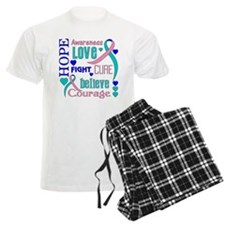 Thyroid Cancer Hope Pajamas