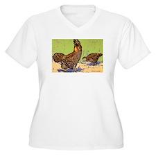 Prairie Chicken Bird T-Shirt