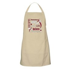 Throat Cancer Hope Apron
