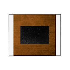 Burnt orange brick texture Picture Frame