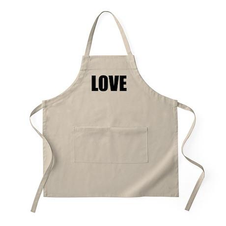 Be Bold LOVE BBQ Apron
