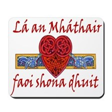 Mother's Day Heart Mousepad