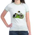 Creme Brabanter Chicks Jr. Ringer T-Shirt
