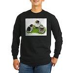 Creme Brabanter Chicks Long Sleeve Dark T-Shirt