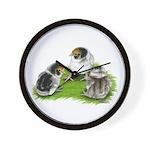 Creme Brabanter Chicks Wall Clock