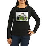 Creme Brabanter Chicks Women's Long Sleeve Dark T-