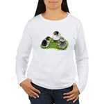 Creme Brabanter Chicks Women's Long Sleeve T-Shirt