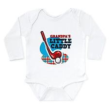 Grandpa'S Little Caddy Long Sleeve Infant Bodysuit