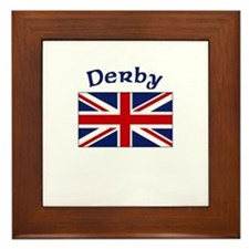 Derby, England Framed Tile