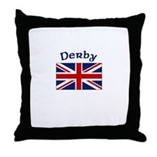 Derby, England Throw Pillow