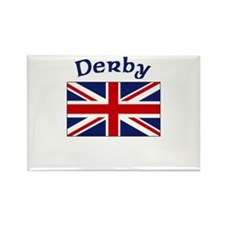 Derby, England Rectangle Magnet (100 pack)
