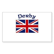 Derby, England Rectangle Decal