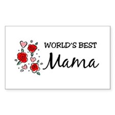 WB Mom [Mandarin] Rectangle Decal