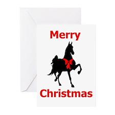 walk_ribbon Greeting Cards